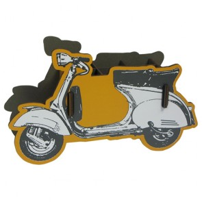 Motor Scooter Pencil Holder