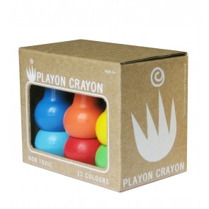 Non-Toxic Playon Crayons Primary Colours