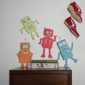 Robots Wall Sticker