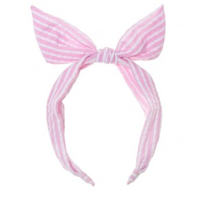 Candy Stripe Tie Head Band