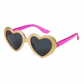 Glittery Heart Sunglasses