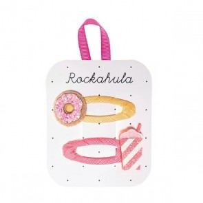 Donut and Milkshake Hair Clips