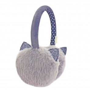 Clara Cat Earmuffs Grey