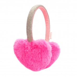 Love Heart Earmuffs Neon
