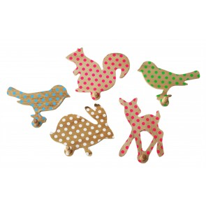 Animal Peg with Polkadots