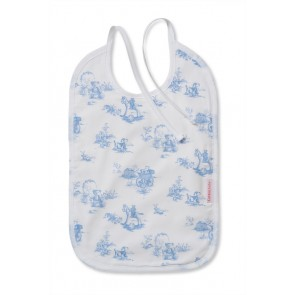 Light Blue Bib Toile de Jouy Design