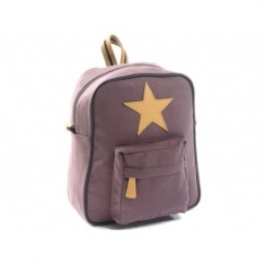 Star Backpack in Dark Rose