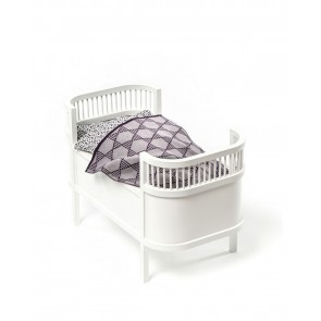 Doll Bed Rosaline White