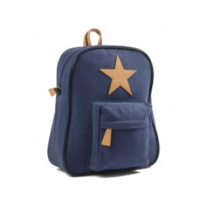 Star Backpack in Navy