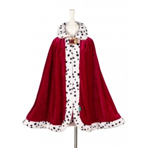 King Louis Cape in Red