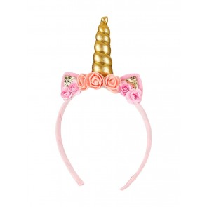 Unicorn Hairband in Pink