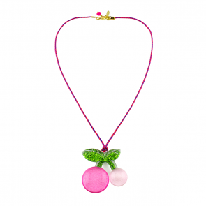 Sparkly Cherry Necklace