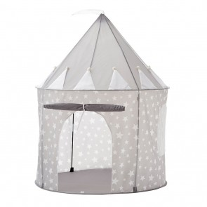 Play Tent with Stars in Grey