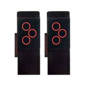 Magentic Pram Clips Black & Red by SwaddleClipp