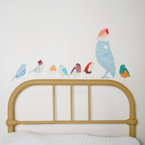 Twitters for Boys Wall Sticker