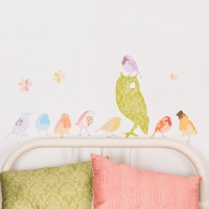 Girly Twitters Wall Sticker