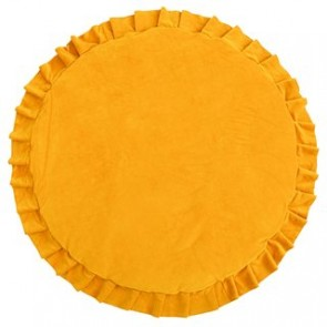 Playmat with Ruffles Velvet Mustard