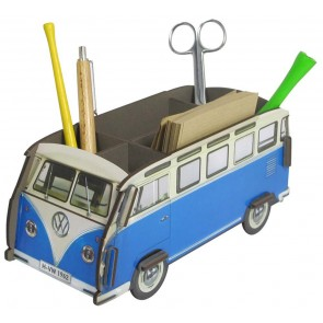 Volkswagen Van Pencil Holder in Blue