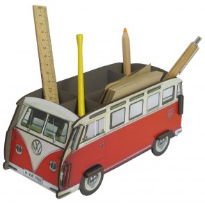 Volkswagen Van Pencil Holder in Red