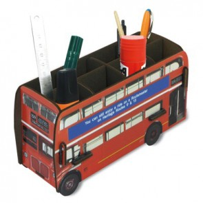 London Bus Pencil Holder