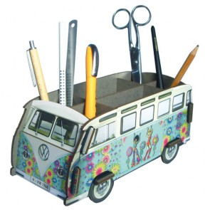 Volkswagen Van Pencil Holder Hippie