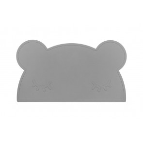 Placemat Bear Grey - We Might Be Tiny