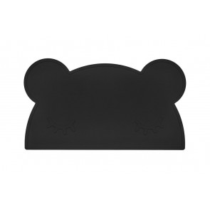 Placemat Bear Black - We Might Be Tiny
