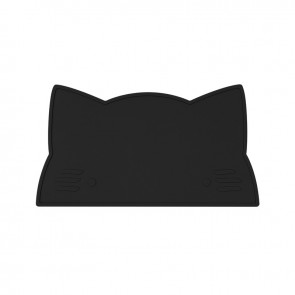 Placemat Cat Black - We Might Be Tiny