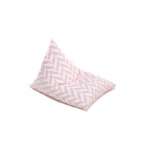 Bean Bag Herringbone Pink