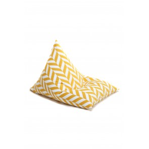 Bean Bag Herringbone Yellow
