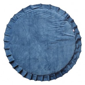Play Mat Velvet Deep Blue