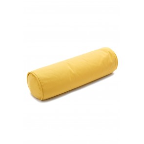 Roll Cushion in Plain Mustard