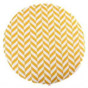 Play Mat Yellow Herringbone