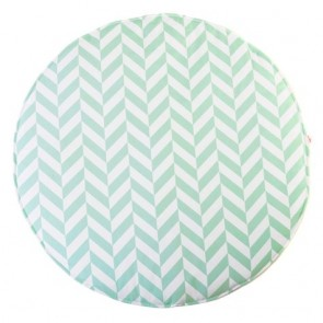 Play Mat Mint Herringbone