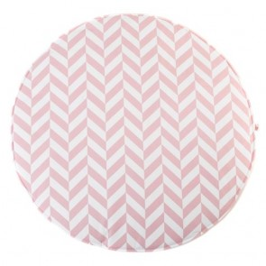 Play Mat Pink Herringbone
