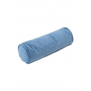 Velvet Roll Cushion in Royal Blue
