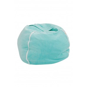 Bubble Bean Bag Velvet Mint
