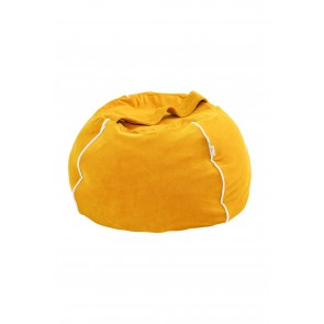 Bubble Bean Bag Velvet Mustard