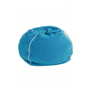 Bubble Bean Bag Velvet Petrol