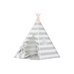 Teepee Set Grey Stripes