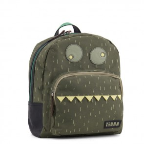 Backbag Monster in Green