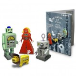 Happy Paper Toy Book 'Return of the Robots'