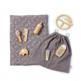 Wooden Doll Care and Feeding Set Viola