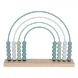 Rainbow Abacus in Blue