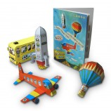 Happy Paper Toy Book 'The Magical Journey'
