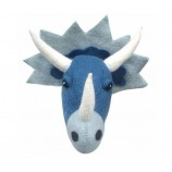 Blue Dinosaur Head Wall Decoration