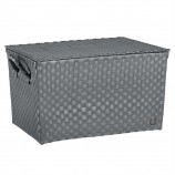 Super Big Ancona Basket in Dark Grey