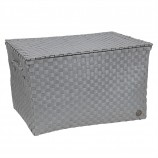 Super Big Ancona Basket in Flint Grey