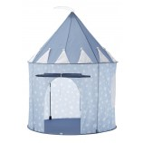 Play Tent with Stars in Blue