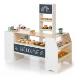 Shop and Bakery Avena in White Natural Mint